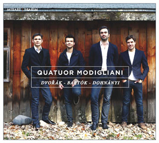 Le Quatuor Modigliani joue Bartók, Dohnányi et Dvořák