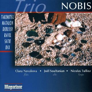 récital Trio Nobis | Bax – Debussy – Matalon – Ravel – Satie – Takemitsu