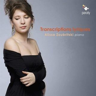 La jeune pianiste francomoldave enregistre des transcriptions chez Paraty