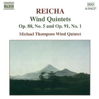 Antonín Reicha | Quintettes à vent n°1 – n°5
