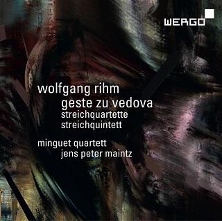 Le Quatuor Minguet joue quatre pièces pour cordes à cordes de Wolfgang Rihm