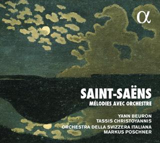 Yann Beuron et Tassis Christoyannis chantent Saint-Saëns avec orchestre
