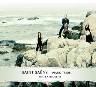 Le Trio Latitude 41 joue deux trios de Camille Saint-Saëns