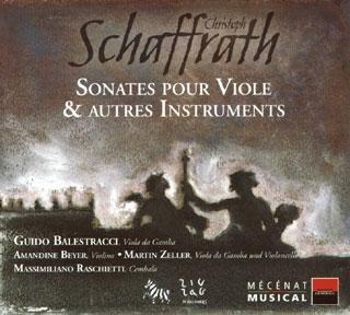 Christoph Schaffrath | sonates pour viole