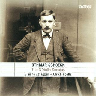Othmar Schoeck | sonates pour violon