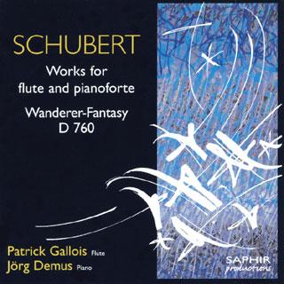Franz Schubert   pièces avec flûte et piano – Wandererfantasie D760