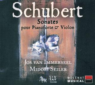 Franz Schubert | sonates pour pianoforte et violon