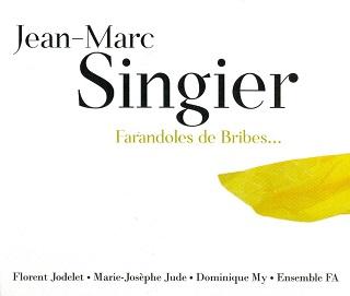 monographie de Jean-Marc Singier (né en 1954), composée de neuf pièces