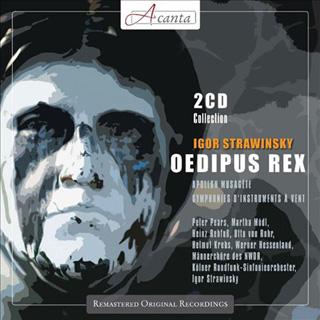 Igor Stravinsky | Œdipus Rex – etc.