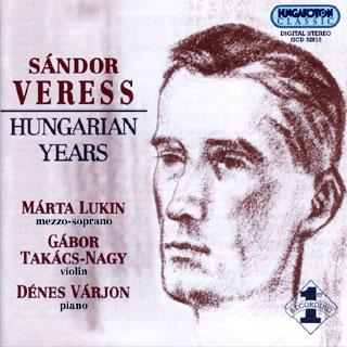 musique de chambre de Sándor Veress (pièces pour violon et piano, etc.)
