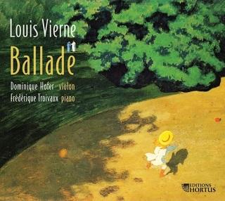 Dominique Hofer (violon) et Frédérique Troivaux (piano) jouent Louis Vierne