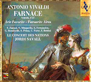 Antonio Vivaldi | Farnace (airs favoris)