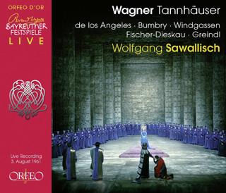 Wolfgang Sawallisch joue Tannhäuser au Bayreuther Festspiele (1961)
