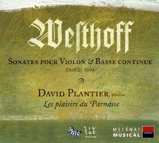 Johann Paul von Westhoff | Sonates pour violon n°1 à n°6