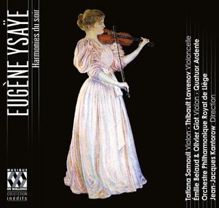 Jean-Jacques Kantorow joue les œuvres pour orchestre d'Eugène Ysaÿe