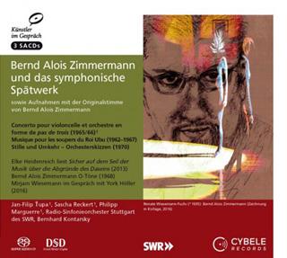 Bernhard Kontarsky joue trois œuvres pour orchestre de Zimmermann