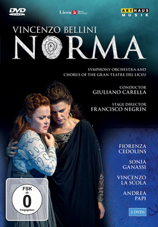Production de Norma signée Francesco Negrin, filmée à Barcelone en 2007