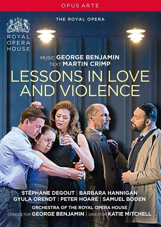 Lessons in love and violence (2019), opéra de Benjamin en création à Londres