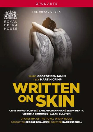 George Benjamin joue son opéra Written on skin (2012)