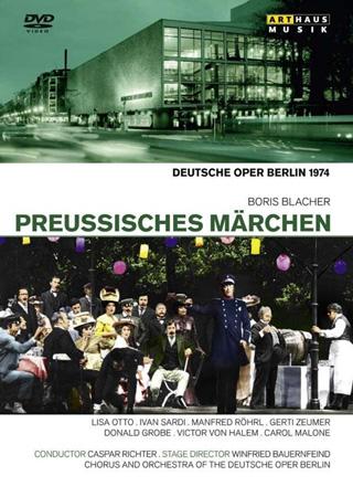 Caspar Richter joue Preußisches Märchen (1952), un opéra de Boris Blacher