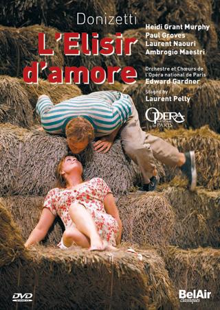 Gardner joue L'elisir d'amore (1832), un opéra de Donizetti (Paris, 2006)