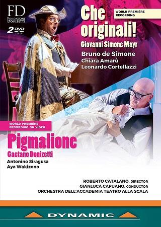 Gianluca Capuano joue Donizetti (Pigmalione) et Mayr (Che originali !)