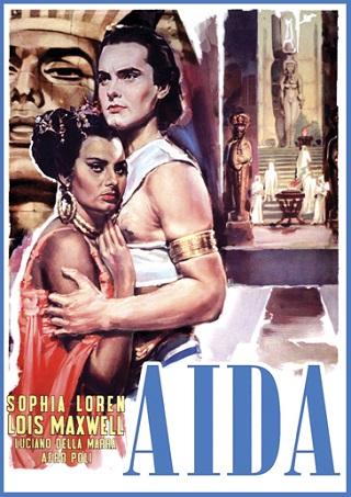 Sophia Loren et Renata Tebaldi sont Aida pour le film de Fracassi (1953)