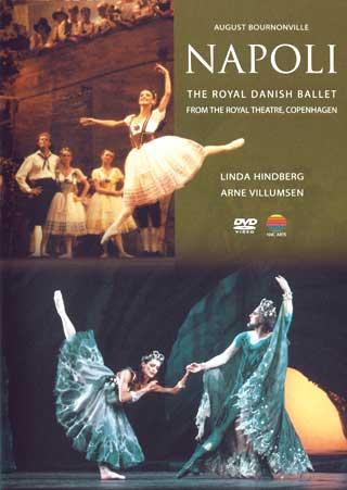 le Royal Danish Ballet sur les planches du Théâtre de Copenhague.