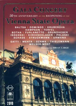 célébrations du cinquantenaire de la réouverture du Staatsoper de Vienne