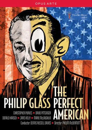 The perfect American, opéra de Philip Glass, en création à Madrid (2013)