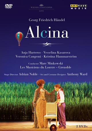 Marc Minkowski joue Alcina (1735), opéra de Georg Friedrich Händel