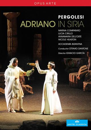 Adriano in Siria, opéra de Giovanni Battista Pergolesi, filmé en juin 2010