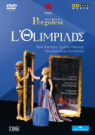 Alessandro de Marchi  joue L'olimpiade (1735), un ouvrage de Pergolesi