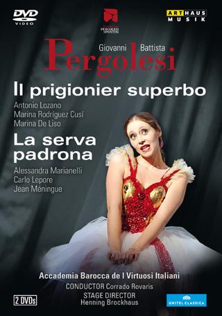 Giovanni Battista Pergolesi | Il prigonier' superbo – La serva padrona