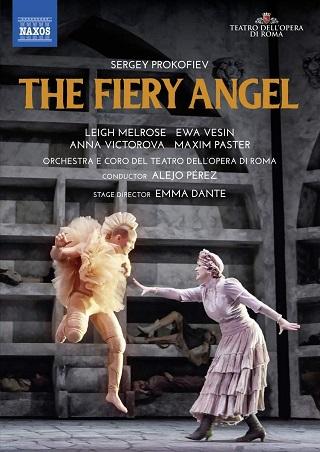 À Rome, en 2019, Alejo Pérez joue L'ange de feu, l'opéra de Prokofiev
