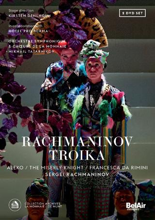 À Bruxelles en 2015, Mikhaïl Tatarnikov joue trois opéras de Rachmaninov