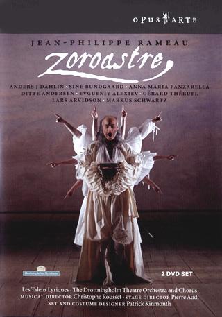 production de Zoroastre enregistrée au Théâtre du Château de Drottningholm