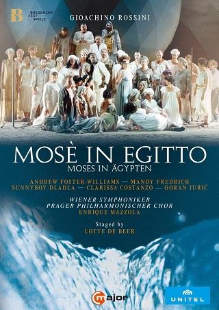 Enrique Mazzola joue Mosè in Egitto (1818), azione tragico-sacra de Rossini