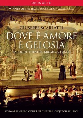 Vojtěch Spurný joue Dove è amore è gelosia (1768) de Giuseppe Scarlatti
