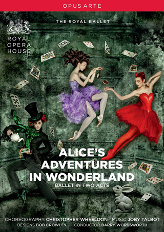 Alice's adventures in Wonderland, ballet de Joby Talbot