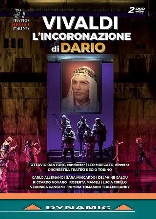 Ottavio Dantone joue L'incoronazione di Dario (1717) d'Antonio Vivaldi