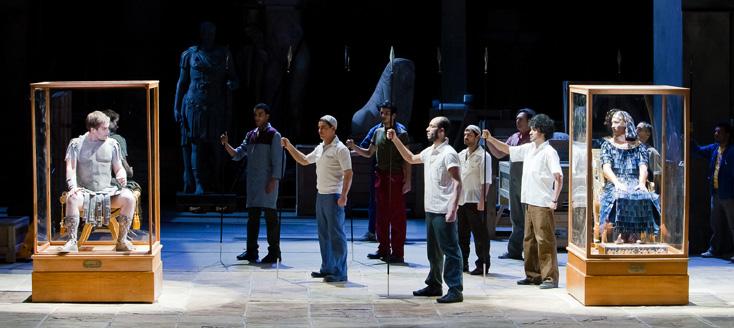 Robert Carsen massacre Giulio Cesare de Händel au Palais Garnier !