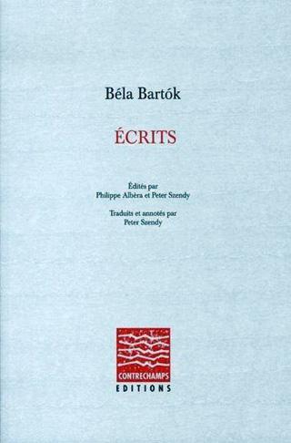 Béla Bartók | Écrits