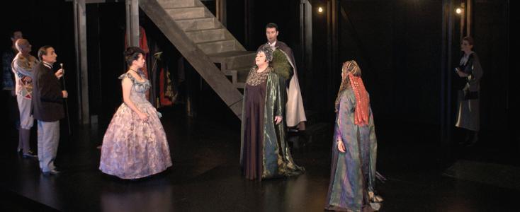 Enfin Adriana Lecouvreur de Cilea à l'Opéra de Lausanne ! (2003)