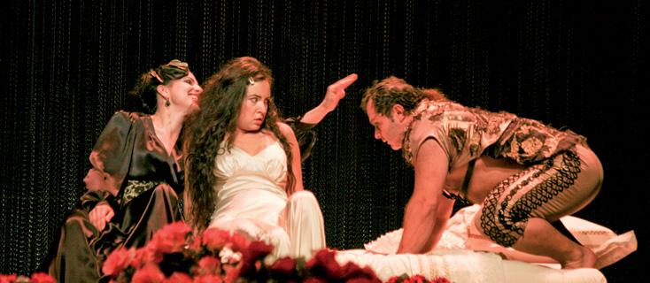 Agrippina, opéra de Georg Friedrich Händel, à l'Opéra de Dijon