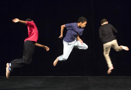 les enfants danseurs du festival 1, 2, 3, Opéra !
