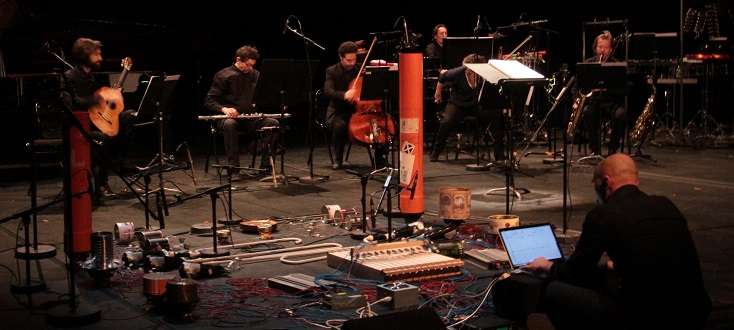 L'Ensemble 2e2m joue Mauro Lanza et Andrea Valle