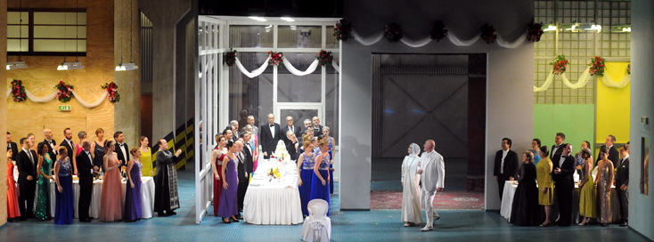 affreuse mise en scène de Tcherniakov du chef-d'oeuvre de Chostakovitch