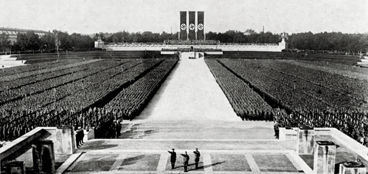 Congrès national-socialiste à Nuremberg, en 1934 : Der Triumph des Willens