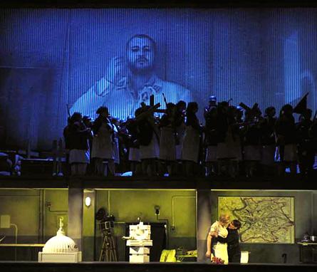 Rienzi mis en scène par Philipp Stölzl à la Deutsche Oper de Berlin, 2010